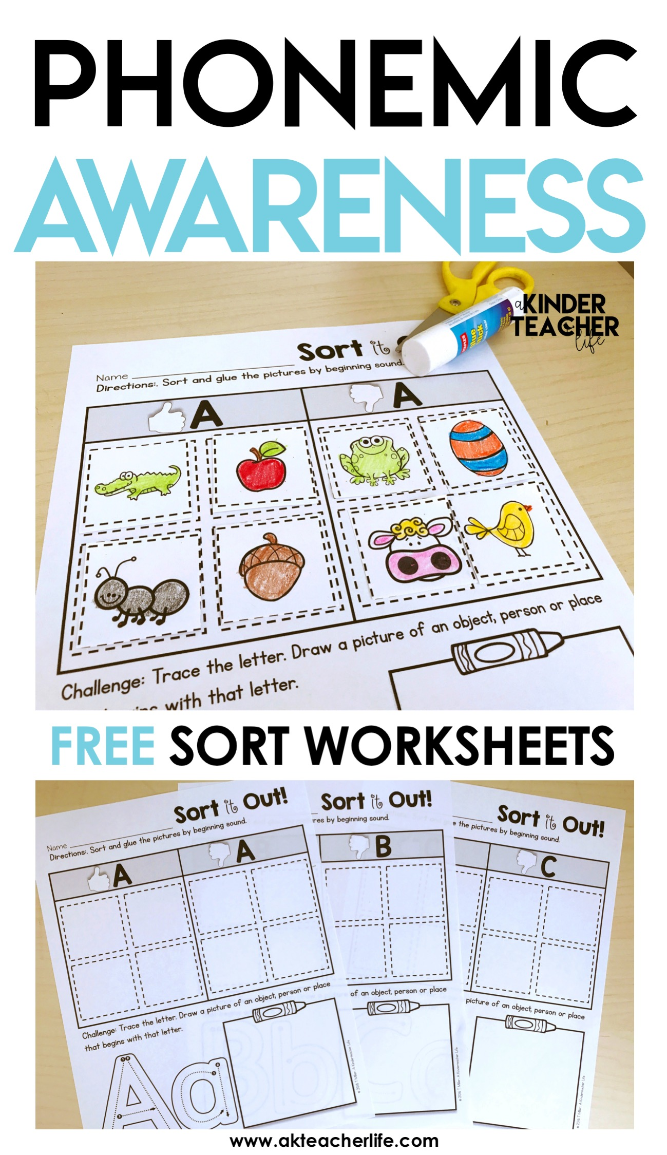 Phonemic Awareness Worksheets For Preschool Phonemic