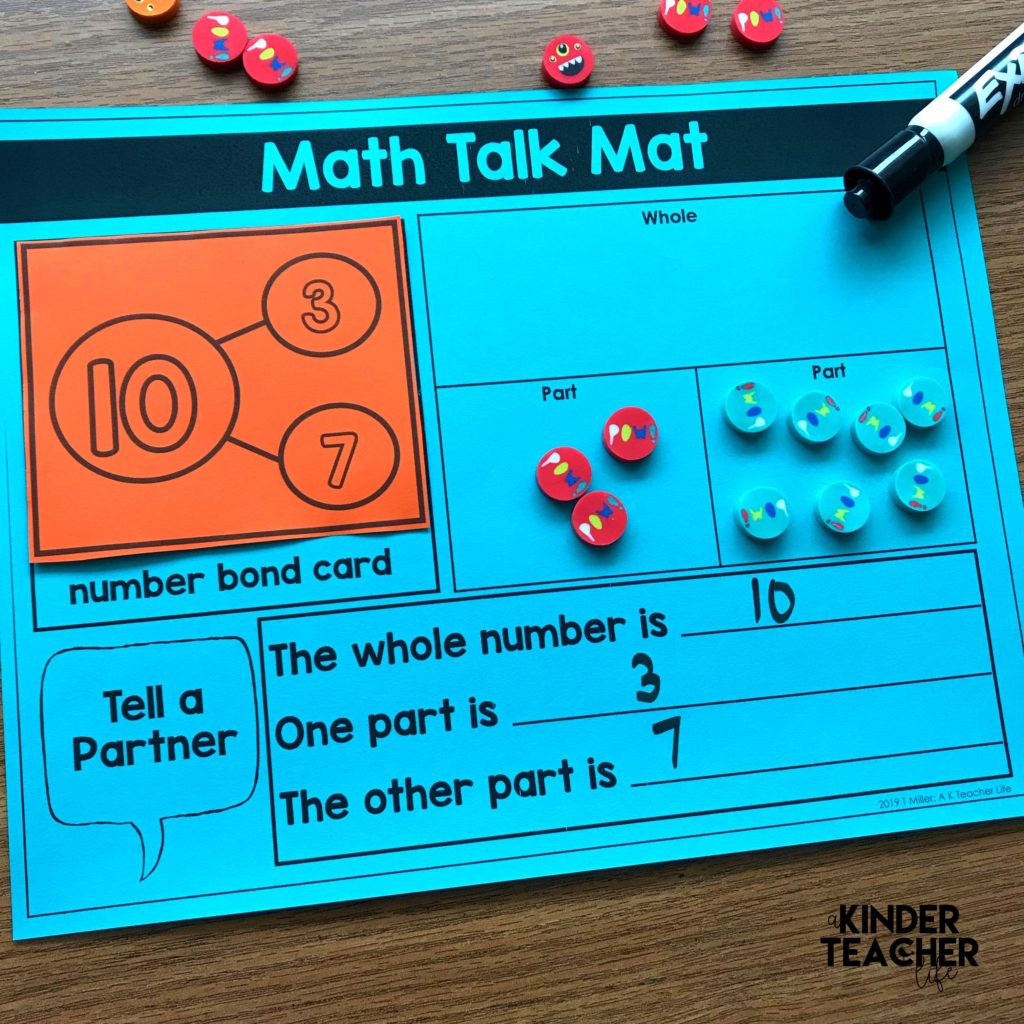 Decomposing Math Center Activities