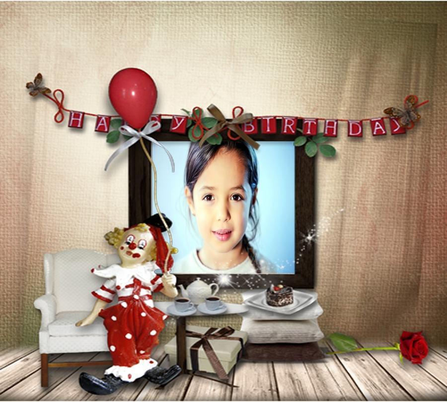 صورتك فى اطار عيد ميلاد سعيد فريم للصور أكتب اسمك على الصور