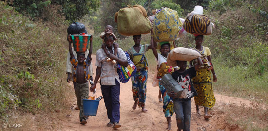 Flüchtlinge Elfenbeinküste