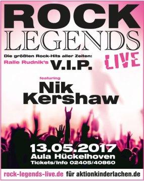 Nik Kershaw Rock Legends Live