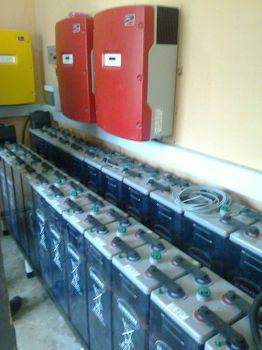 Der Batterieraum
