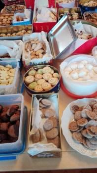 Fast 15 kg Plätzchen wurden gespendet