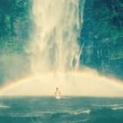 Urlaubsfeeling am Wasserfall