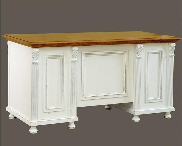 Schreibtisch Vintage Weiß 2021