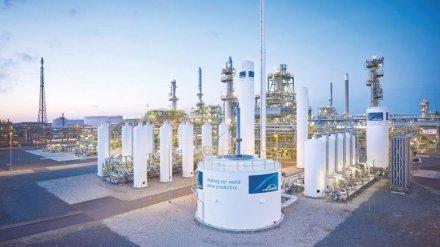 Linde baut weiteren Wasserstoff-Verflüssiger in Leuna