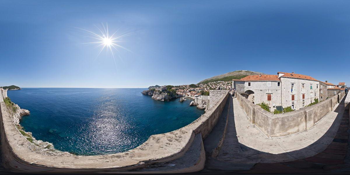 Rundgang über die Stadtmauer von Dubrovnik