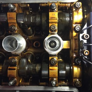 BMW S54 Engine without valve cover