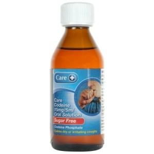 codeine sugar free