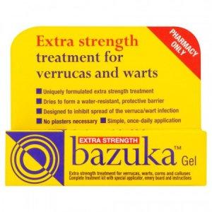 Buy Bazuka Verruca Gel Extra Strength