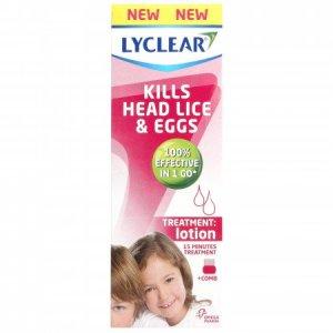 Buy Lyclear head lice lotion online