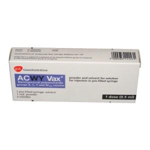 ACWY vaccine