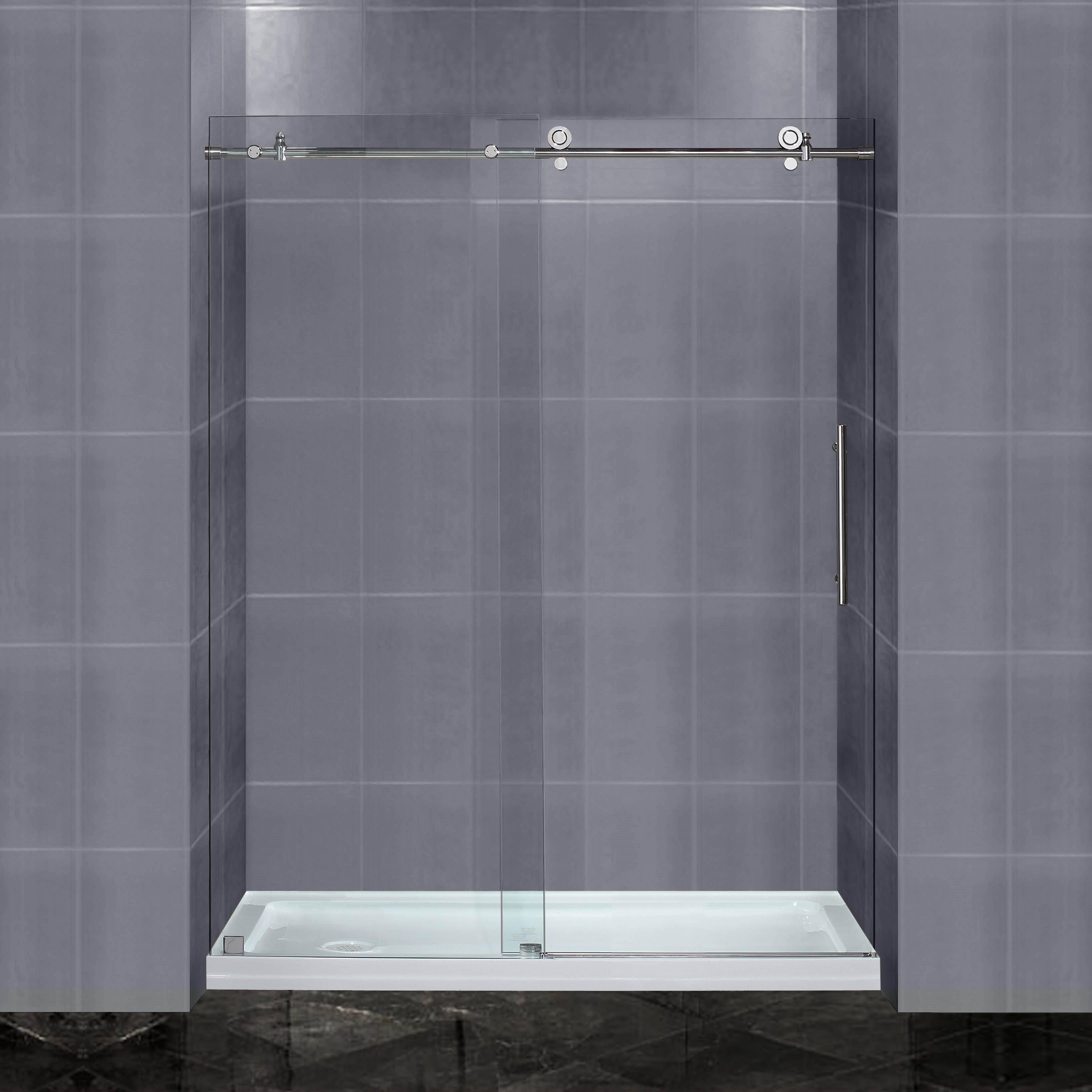 Florence 60 Inch Shower Door AK Trading Home Options