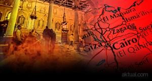 Bom bunuh diri di gereja St Peter dan St Paul, di Kairo Mesir. (ilustrasi/aktual.com)