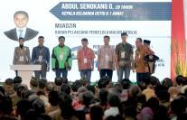 Pameran Indonesia Properti Expo yang diselenggarakan setiap tahun menghadirkan hampir 845 proyek perumahan dengan berbagai promosi menarik dalam rangka HUT ke-72 RI dan akan mencatatkan potensi kredit kepemilikan rumah baru senlai Rp 5 triliun. AKTUAL/Eko S Hilman