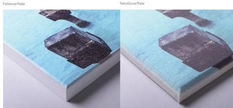 Nærbilde med strukturdetaljer, fargebilde