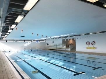 Kannik svømmehall med Loke 40 Hygiene i taket