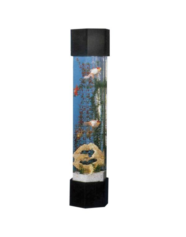 Šešiakampis akvariumas bokštas HT-1