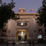 Entrée du gudwara de Gobing Singh