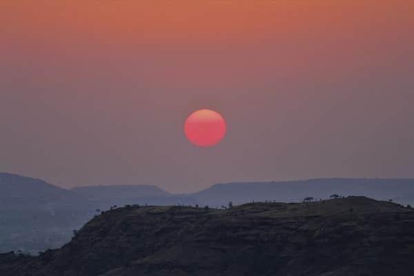levée de soleil, sunrise, india, inde, maharashtra, Aurangabad