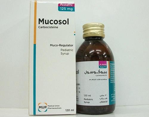 ميوكوسول شراب مذيب للبلغم Mucosol Syrup الأجزخانة