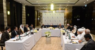 الامين | إجتماع مجلس حكماء المسلمين في مملكة البحرين 1