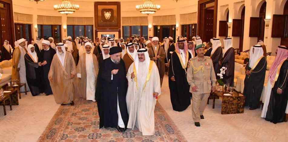 الامين   خطر التطرّف والإرهاب - كلمة العلاّمة السيد علي الأمين - مملكة البحرين 9