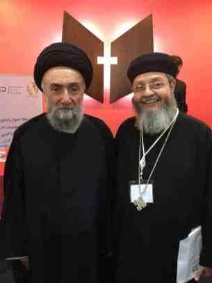 الامين | العلاّمة الأمين محاضراً في منتدى الشباب العربي للحوار بين أتباع الأديان والثقافات 6