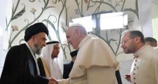 البابا فرنسيس - السيد علي الامين - لقاء الاخوة الانسانية - وثيقة الاخوة الانسانية