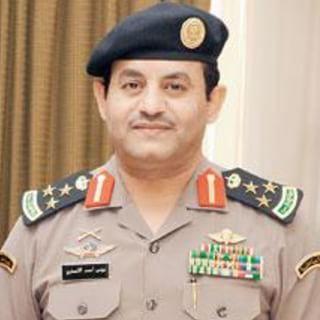 العميد يونس الأنصاري مدير مركز شرطة ثول جدة