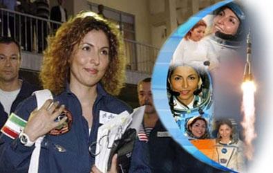 انوشة الانصاري أول رائدة فضاء مسلمة، وأول إمرأة جابت الكون ورابع من سدد شخصياً كلفة رحلته الفضائية.