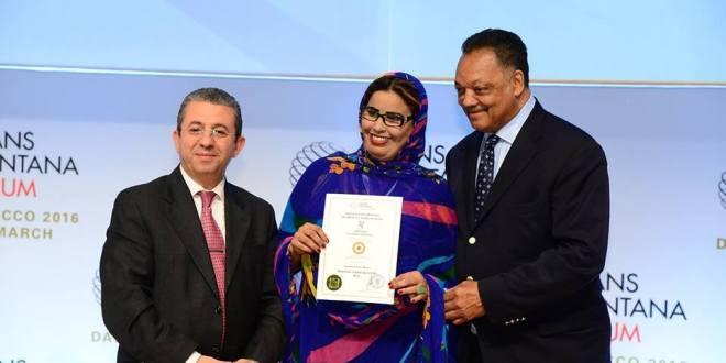 الدكتورة بنتا العباسي الانصاري (بنت الصحراء) ضمن القادة الجدد في المنتدى العالمي كرانس مونتانا2016
