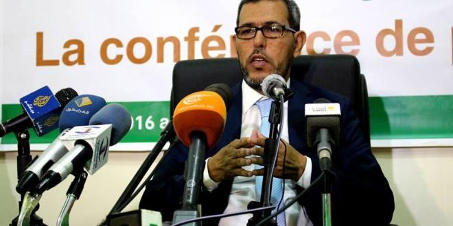 زعيم المعارضة الديمقراطية الموريتانية العمدة الاستاذ الحسن ولد محمد البصادي الانصاري عمدة لبلدية عرفات