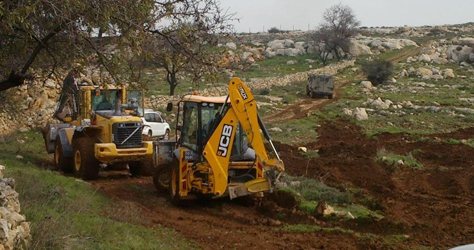 صہیونی حکام کا رام اللہ میں 139  فلسطینی اراضی پر قبضے کا منصوبہ