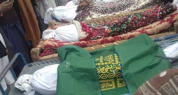 غزنی،امریکی ڈرون حملہ،12 افراد شہید، 6 زخمی