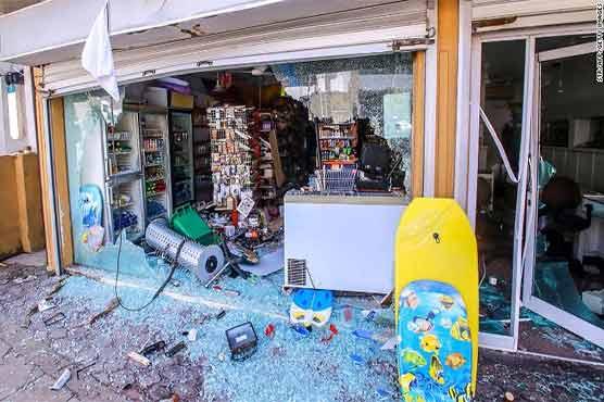 سری لنکا: مسلمانوں کی درجنوں دکانیں اور املاک جلا دی گئیں