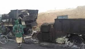 میدان وردگ میں کارون پر حملہ سات ٹینک وگاڑیاں تباہ