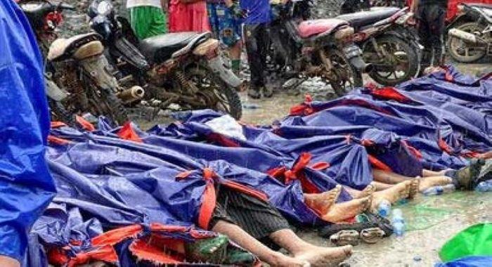 لینڈ سلائیڈنگ کی وجہ سے میانمار میں پتھروں کی کان میں کام کرنیوالے 100 سے زائد مزدور ہلاک