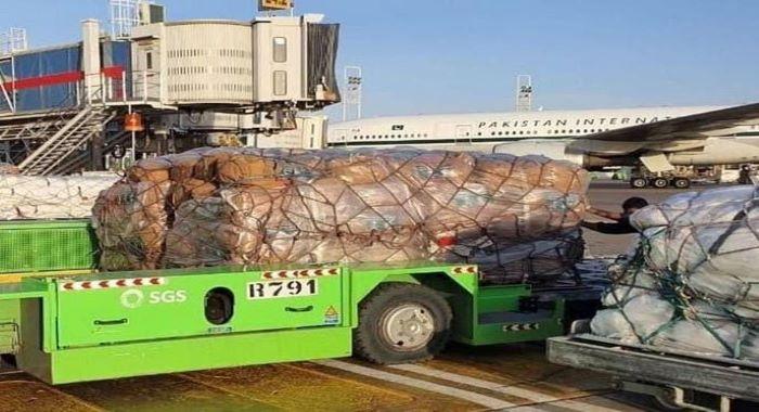 شاہ سلمان امدادی مرکز کے زیر انتظام دو طیارے 120 ٹن سے زیادہ امدادی سامان لے کر بیروت روانہ