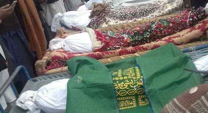 افغان فوجیوں کی  وحشت،خواتین بچوں سمیت 10 شہید و زخمی