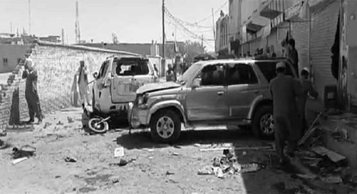 چمن دھماکا 6 افراد جان بحق 14 زخمی