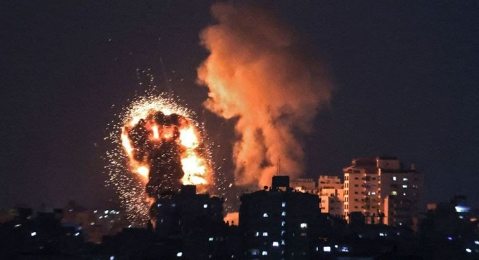 غزہ : اسرائیلی فوج کے  وحشیانہ حملے 119 فلسطینی شہید 621 زخمی