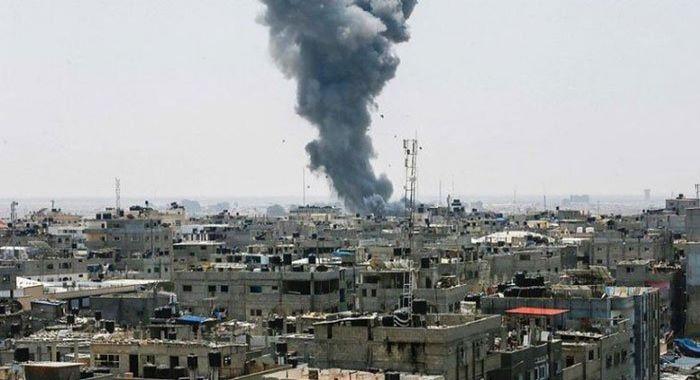 غزہ : اسرائیلی جنگی طیاروں کی بمباری تیسرے روز بھی جاری