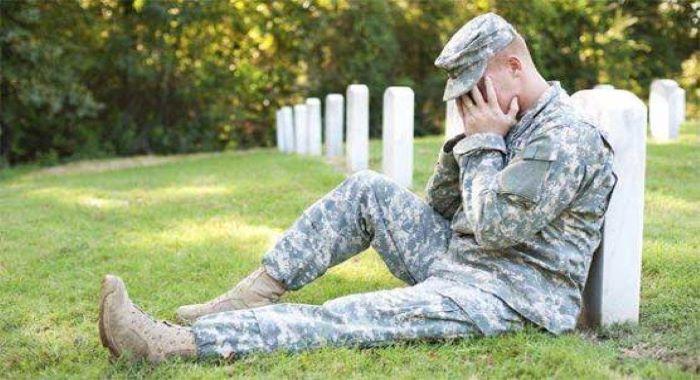 امریکی حاضر سروس اور ریٹائرڈ فوجیوں میں خودکشی کے رجحان میں اضافہ