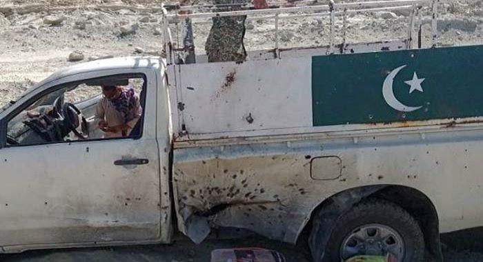 سبی ایف سی اہکاروں پر حملہ 5 اہلکار شہید