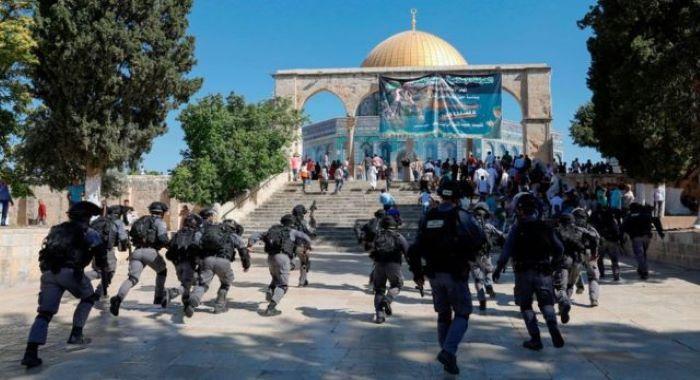 بیت المقدس صیہونی گروپ کی جانب سے پیغمبر اسلام کی شان میں گستاخی فلسطینی سراپا احتجاج