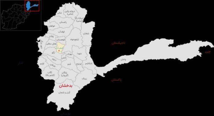 بدخشان، چھ اضلاع کے مراکز فتح، گرفتاریاں، سرنڈر، غنائم