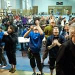Lecture des voies (Coupe du Rhône d'escalade - Anse)