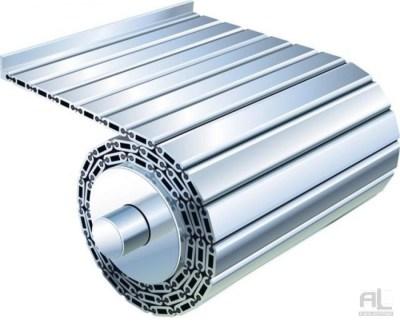 Tapis articulé aluminium