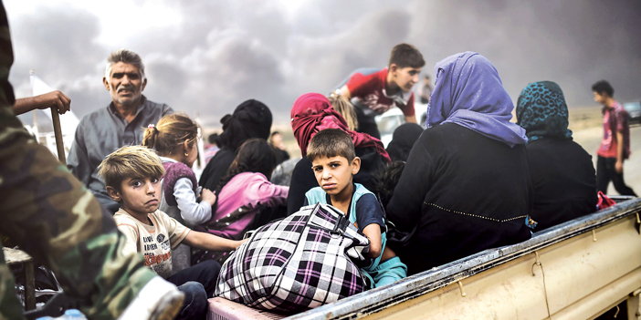 The suffering of the Iraqi displaced families from Mosul